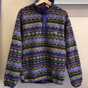 Vintage Tribal Print Rare Patagonia Fleece Sweater